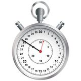 Stopwatch. Vector illustration. Stock Photography