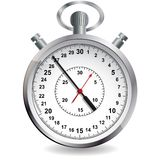 Stopwatch. Vector illustration. Royalty Free Stock Images