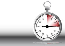 Stopwatch Warning Royalty Free Stock Image