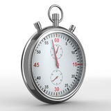 Stopwatch on white background Royalty Free Stock Image