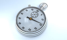 Stopwatch. With white color background Stock Image