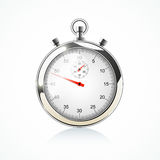 Stopwatch -  on white. Vector illustration Stock Photos