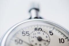 Stopwatch, zakończenie w górę zdjęcie stock