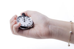 Stopwatch on Zero Royalty Free Stock Image