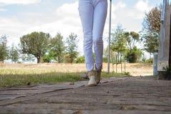 stopy chodzić Fotografia Stock