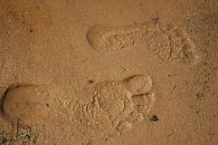 stopy kroków Zdjęcia Stock