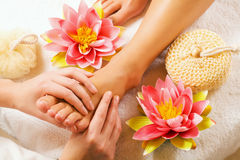 stopy masaży Zdjęcie Royalty Free
