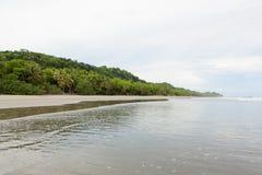 Stor öppen sandstrandmontezuma Fotografering för Bildbyråer