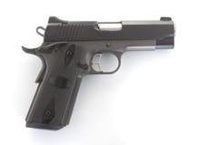 Stor 9mm pistol Royaltyfri Foto
