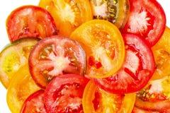 Stor abstrakt bakgrund av olik färg för sund naturlig mat Royaltyfria Foton