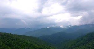 Stor areal sikt för rökiga berg
