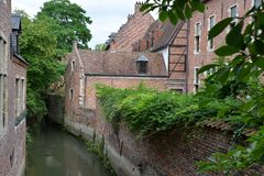 Stor beguinage Royaltyfri Foto