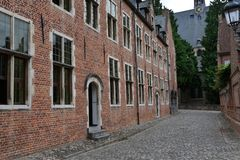 Stor beguinage Royaltyfri Bild