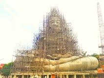 Stor Bhuddha byggnad Arkivbild