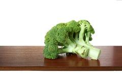 Stor bit av broccoli Royaltyfria Bilder