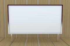 stor blank ask för bakgrund 3d Royaltyfri Bild