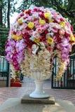 Stor blommavas Fotografering för Bildbyråer