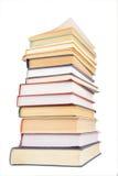 stor bokbunt Fotografering för Bildbyråer