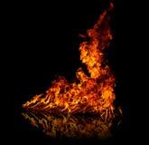 stor brand Arkivfoton