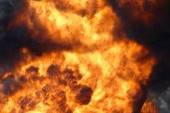 stor brand Arkivfoto