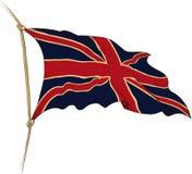 stor britain flagga Royaltyfri Fotografi