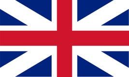 stor britain flagga Arkivbild