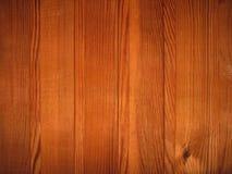 Stor brun wood plankaväggtextur Royaltyfri Foto