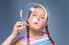 stor bubbla mycket Fotografering för Bildbyråer