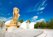 Stor buddha bild Arkivfoton