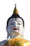 Stor buddha bild på den guld- triangeln Arkivfoton