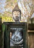 Stor buddha bild på Wat Srichum Royaltyfri Foto