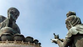 Stor Buddha Hong Kong Royaltyfria Bilder