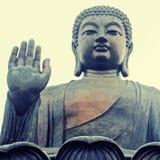Stor Buddha, Hong Kong (Kina) Royaltyfri Fotografi