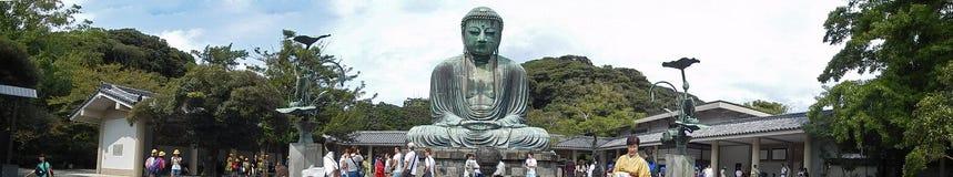 Stor Buddha, Kamakura, Japan Arkivfoton