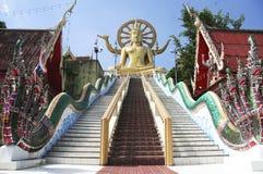 stor buddha kohsamui thailand Royaltyfri Fotografi