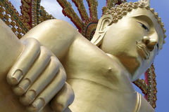 stor buddha kohsamui thailand Arkivbild