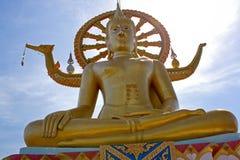 stor buddha kosamui thailand Royaltyfria Foton
