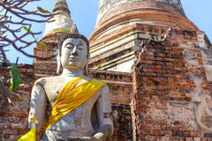 stor buddha staty Fotografering för Bildbyråer
