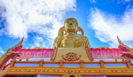stor buddha staty Arkivbilder