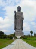 stor buddha statyushiku Arkivbilder