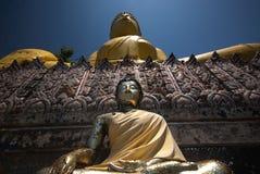 stor buddha yellow Royaltyfri Bild