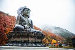 Stor Buddhamonument av Sinheungsa Fotografering för Bildbyråer
