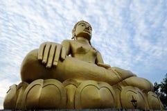 Stor Buddhastaty Royaltyfria Foton