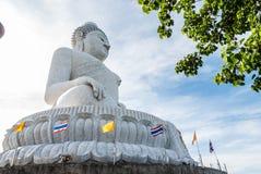 Stor Buddhastaty i Phuket Royaltyfria Foton