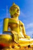 Stor Buddhastaty på den Pratumnak kullen Pattaya Royaltyfri Foto