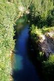 Stor chilensk flod Royaltyfria Foton
