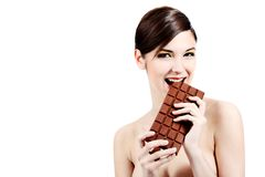 stor choklad Royaltyfri Fotografi