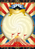 stor cirkusöverkant Royaltyfri Fotografi
