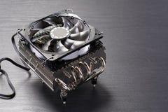 Stor CPU-kylare Royaltyfri Bild