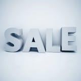 Stor 3D SALE stock illustrationer